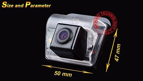 Cam/éra de recul voiture IP67 /étanche couleur haute d/éfinition grand angle de visionnement avec plaque dimmatriculation vision nocturne pour Mazda 6// Mazda 3// Mazda CXX-7 Besturn B50//B70