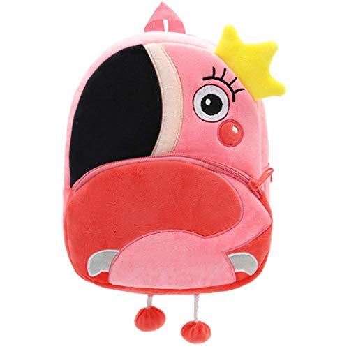 - Bsjmlxg Children's Fashion Cute Toddler Backpack Toddler Bag Plush Animal Cartoon Mini Travel Bag for 2-5 Years Kids