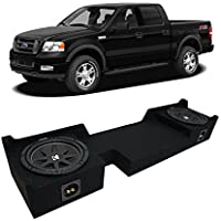 2004-2008 Ford F-150 Super Crew Truck Kicker Comp C10 Dual 10 Sub Box Enclosure - Final 2 Ohm