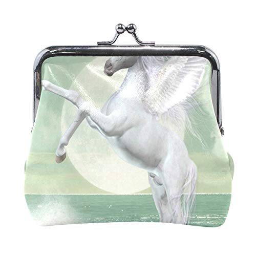 Coin Purse Fantasy Standing Unicorn Womens Wallet Clutch for sale  Delivered anywhere in USA