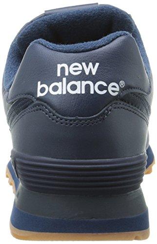 online store 6dea6 a2c97 Amazon.com   New Balance Men's NB574 Leather Pack Running ...