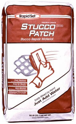 CTS CEMENT MANUFACTURING S50-RDC09 50LB Stucco Patch, 50 g ()