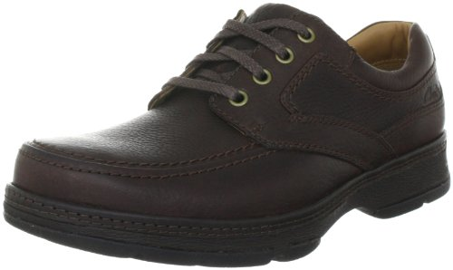 Clarks Star Stride 203256208 - Zapatos casual de cuero para hombre Marrón (Braun (Brown Leather))