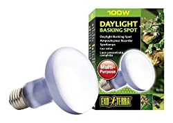 Exo Terra Sun-glo Basking Spot Lamp, 100-watt120-volt