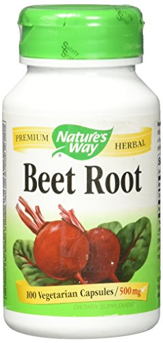 Nature's Way Beet Root 500 mg, 100 Vegetarian Capsules, Pack of 3 (Best Way To Kill Roots)