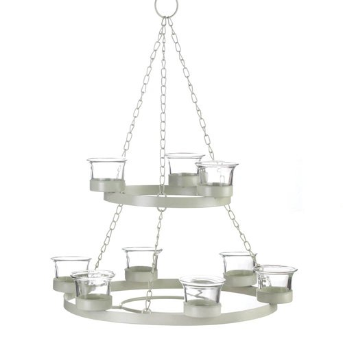 Tealight Chandelier - Smart Living New White Tree Chandelier Wfm-10016075
