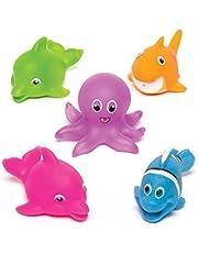 Baker Ross AV285 Sealife Squirters (pak van 5) Leuk badfeestje of zakvuller voor kinderen