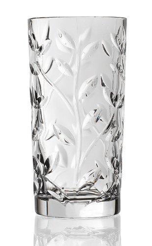Lorenzo Rcr Crystal Laurus Highball Glass, Set of 6 by Lorenzo