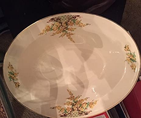 Amazon.com : Edwin M. Knowles China Co. Hostess Serving Dish 9 1/2 ...