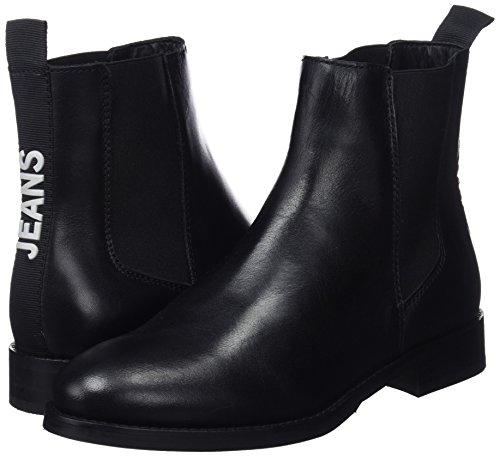 Women's 990 Basic Black Tommy black Classic Jeans Chelsea Boots z5aq7