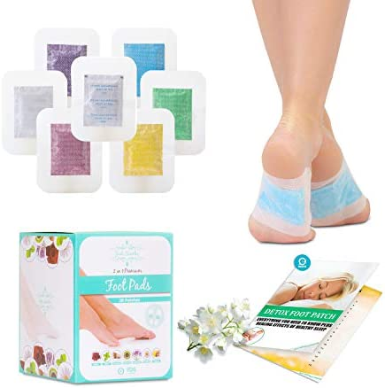 Sole Soothe Foot Pads Upgraded Premium 2 in1, 100% All Natural Foot Patches for Increased Energy, Deep Sleep, Anti-Stress, 7 Types -Ginger,Mint,Rose,Green Tea,Lavender,Coconut - 28 Counts (Box of 1) 1