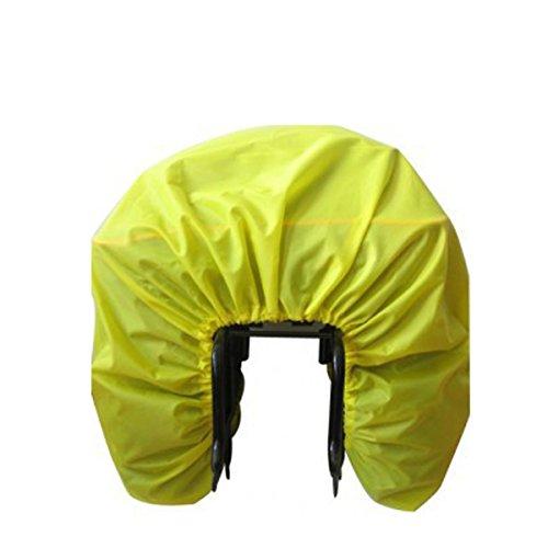 Jiele Bicycle Rain Cover Bicycle Rear Seat Carrier Bag Double Pannier Bag Bike Commuter Bag Rain Cover