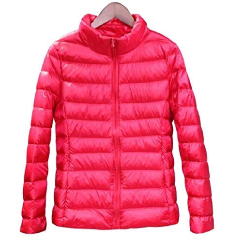 Gocgt Womens Packable Ultra Light Weight Short Down Jacket Coats Red