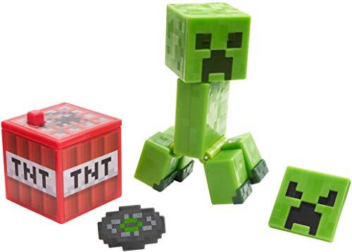 Minecraft Comic Maker Creeper Action Figure, Multicolor