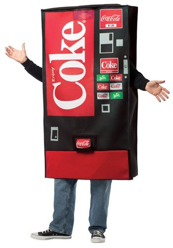 Coke Vending Machine Costume