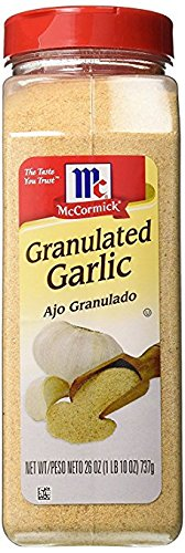 McCormick Garlic, Granulated, 26-Ounce Units (Pack of 2)