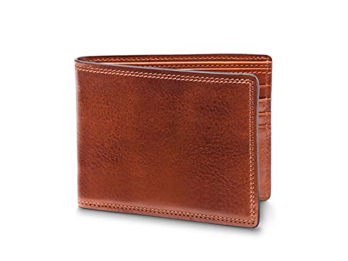 (Bosca Men's 8 Pocket Deluxe Executive Leather Wallet In)