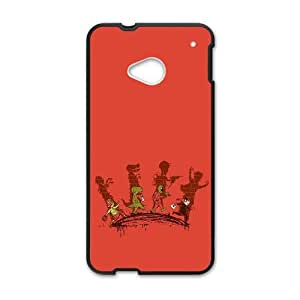 HTC One M7 Cell Phone Case Black_Trick Or Treat Kesxj