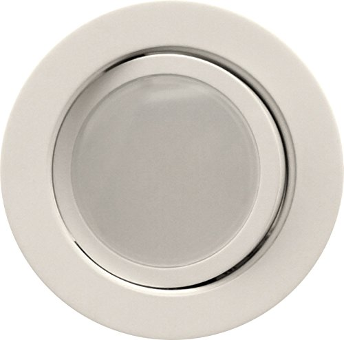 NICOR Lighting 4-Inch Dimmable 2700K LED Gimbal Recessed Downlight, White (DLG4-10-120-2K-WH) by NICOR Lighting