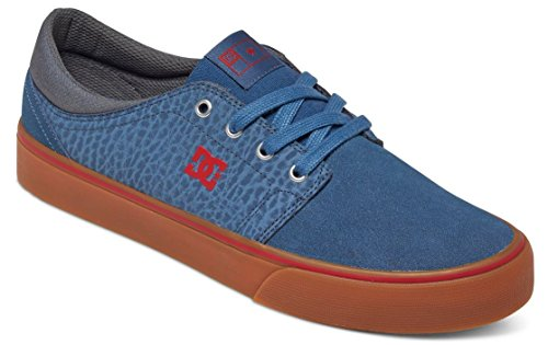 Dc Shoes Trase S - Zapatillas para hombre, Color: NAVY/GUM, Talla: 42 EU (9 US / 8 UK)