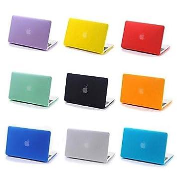 coosbo® 11 color Matt caso duro goma para Apple Mac Macbook ...