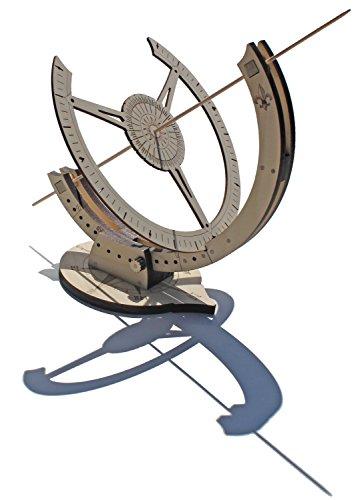 Abong Wooden Sundial Kit