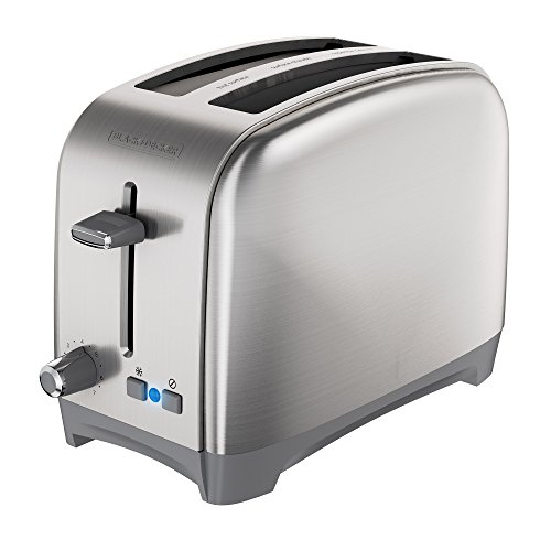 BLACKDECKER-TR2400SD-2-Slice-Extra-Wide-Slot-Toaster-Bagel-Toaster-Stainless-Steel