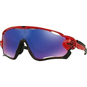 Oakley Men's Jawbreaker (a) 0OO9270 Non-polarized Iridium Rectangular Sunglasses, REDLINE, 31 mm