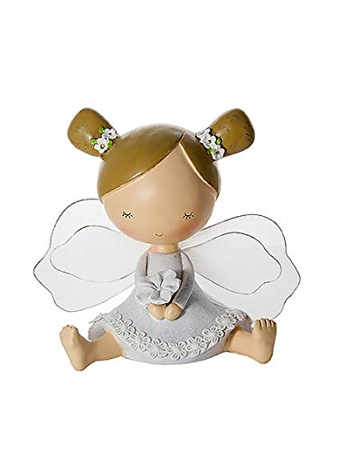 Flower Girl Piggy Bank - Kids or Baby Fairy Money Bank Piggy Bank Coin Box Gift Girls Baby Shower Present Gift