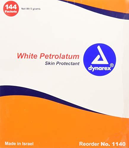 White Petroleum Jelly, Foil Packs.5 Gram, 144-count