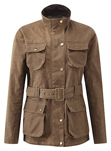 Womens Wax Denison Jacket Tan-L (Jacket Denison)