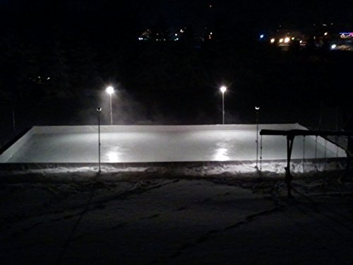 Ice Hockey Rink Poly Liner (42' x 70') Backyard Ice Rink Liner