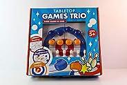 Tabletop Games Trio 3 Games in 1 Curling Shuffleboard Bowling