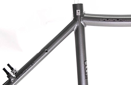 "15"" MARIN SAUSALITO Road Commuter Bike Frame Alloy Grey 700c E3 Tubing NOS NEW"