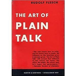 The Art of Plain Talk