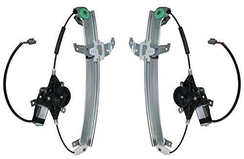 Power Window Regulators w/ Motor Front Pair Set LH & RH for Lincoln Town Car