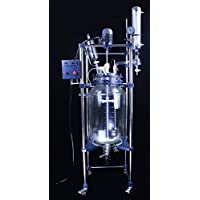 Boshi Electronic Instrument 20L Explosion Proof Motor Jacketed Chemical Reactor/Glass Reaction Kettle (110V)