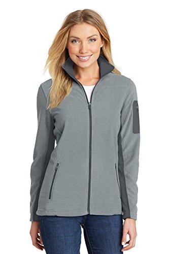 Port Authority Womens Summit Fleece Full-Zip Jacket (L233) -Frost Grey -M