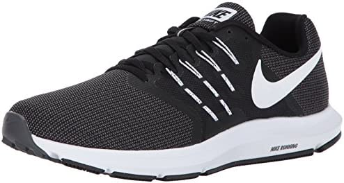 Nike Men s Run Swift Running Shoe Black White Dark Grey Size 13 M US  Buy  Online at Low Prices in India - Amazon.in fea5aa230