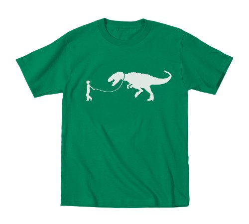 Pet TRex Leash - Toddler Shirt - KELLY GREEN - - Products Leash T-rex