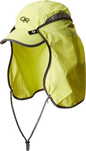 Outdoor Research Sun Runner Cap, Chartreuse, L (Hat Sun Runner)