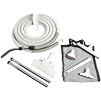Cen-Tec Systems 93378 Central Vacuum Premium Gray Kit with 35 ft Hose