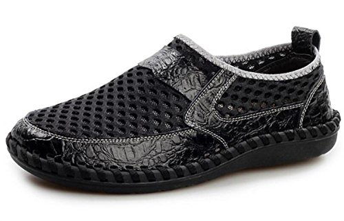 Guida 3 pattini della uomini maglia dei superficie Sottragga cuoio casuali di corsa le all'esterno della scarpe superficie di degli della Pattini Pattini T1vwT