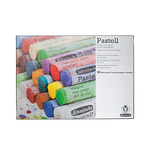 Schmincke Extra-Soft Pastel Multi-Purpose Set, Set of 30 Colors (77230097)