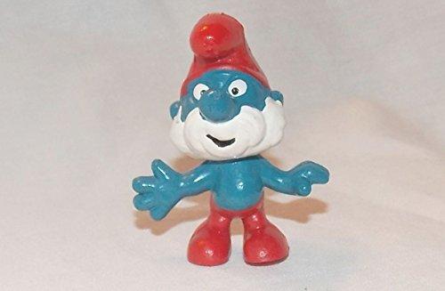 (Smurfs 1980 Vintage Papa Smurf 2