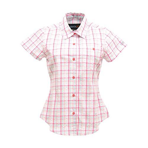 Regatta - Camisa para mujer Rojo