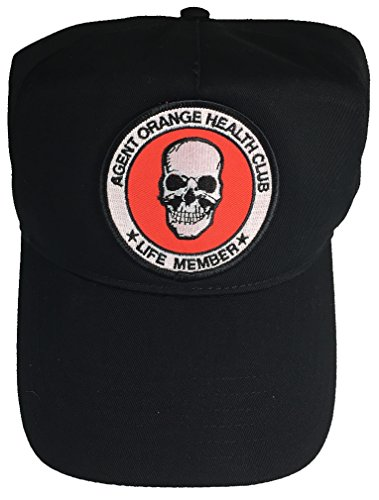 Agent Hat - AGENT ORANGE HEALTH CLUB HAT - BLACK - Veteran Owned Business