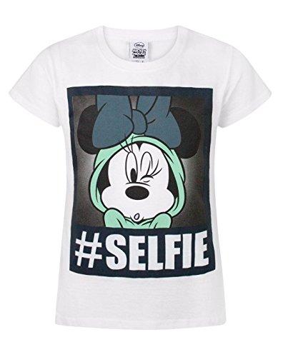 Disney Minnie Mouse Selfie Girl's T-Shirt (3-4 - Uk Prints Polaroid