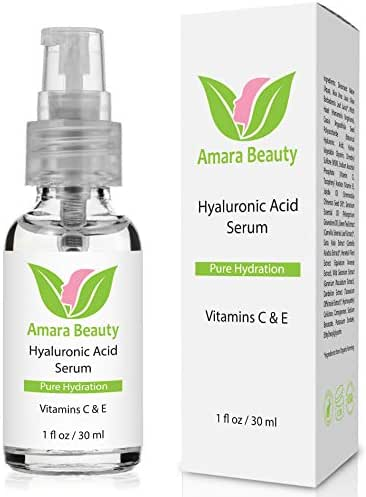 Hyaluronic Acid Serum for Skin with Vitamin C & E, 1 fl. oz.