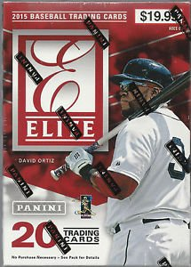 2015 Panini Elite Baseball Trading Cards Blaster Box